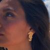 Pendientes Caballito de Mar oro